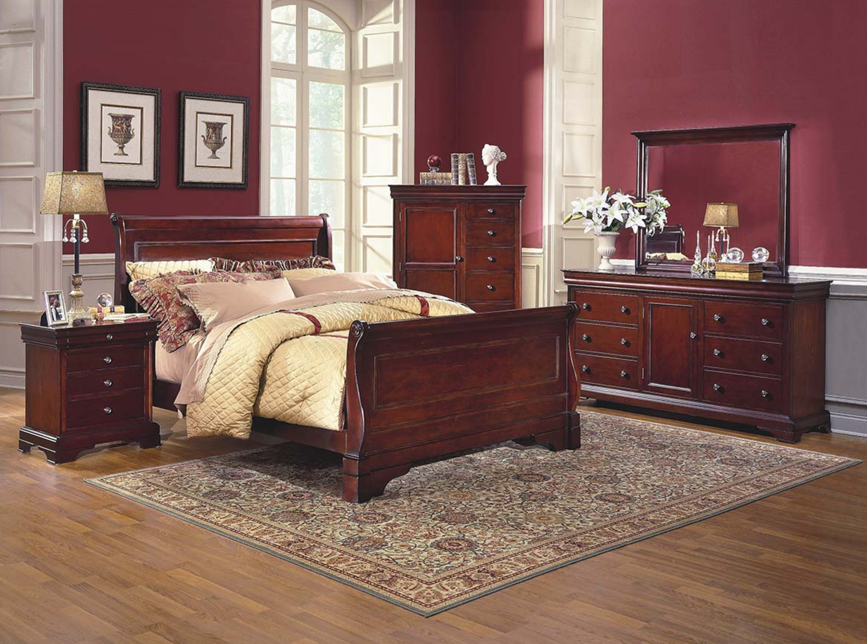 Versaille Bedroom Set