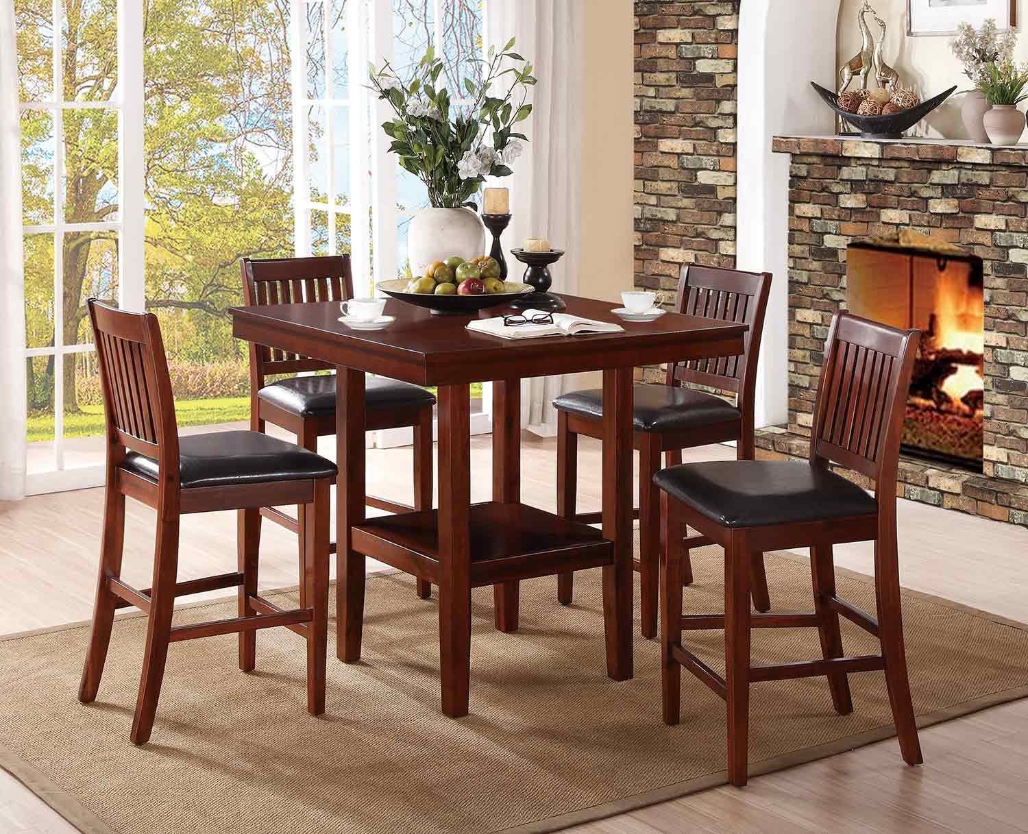 Galena Counter Height Dining Set