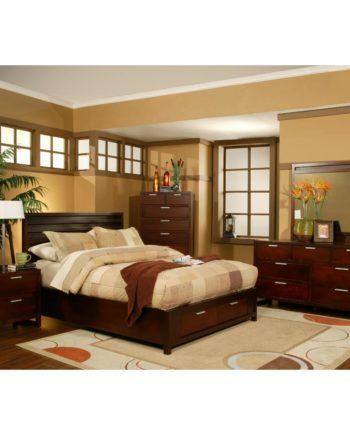 Queen Bedroom Set  60888. Wood   Brothers  Furniture