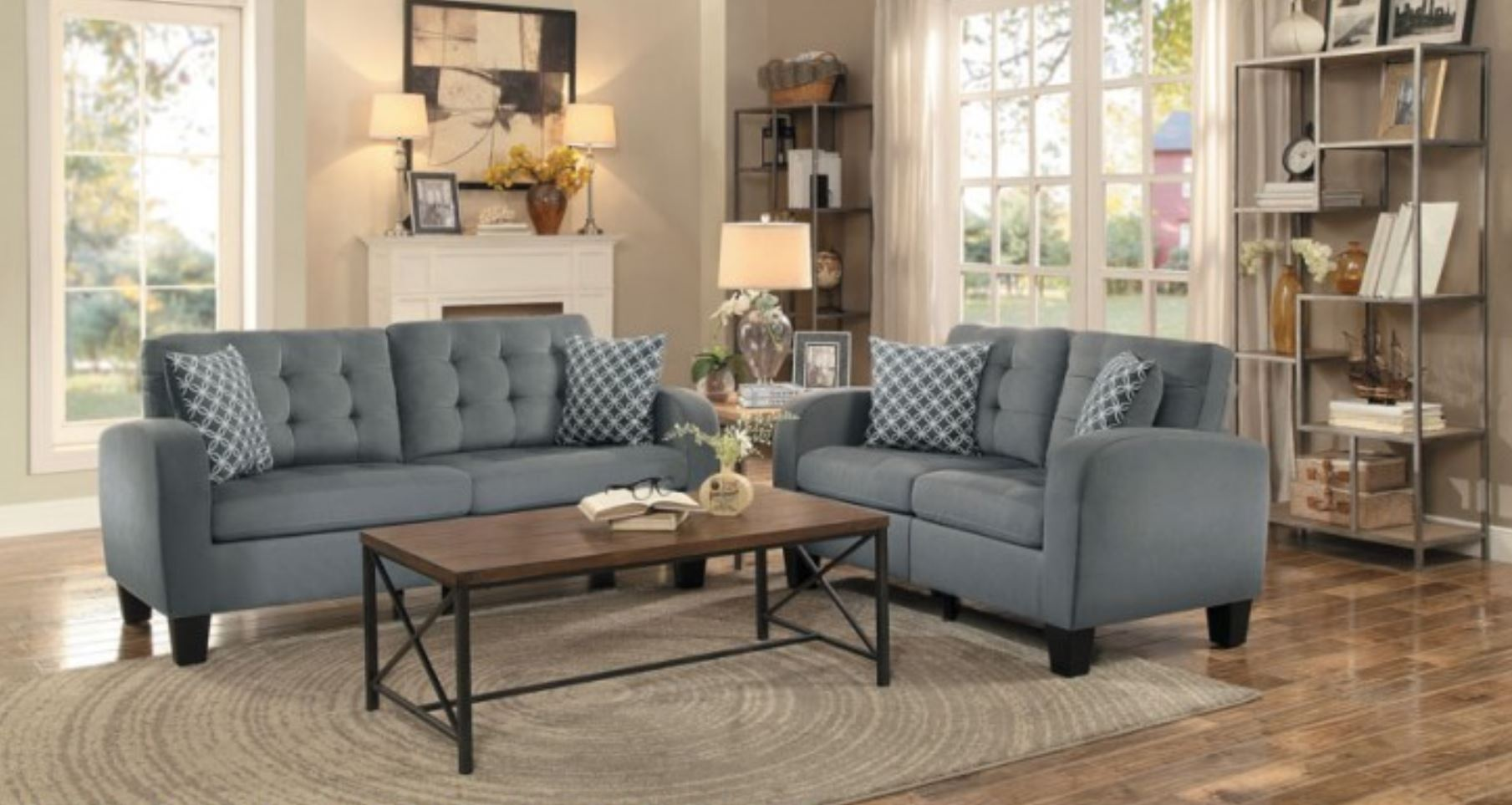 ashley reclining living room gallery set buy by media design austere gray signature